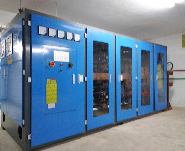 2500KW Intermediate frequency induction heating power supply
